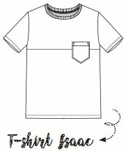 T-Shirt Isaac, La Maison Victor