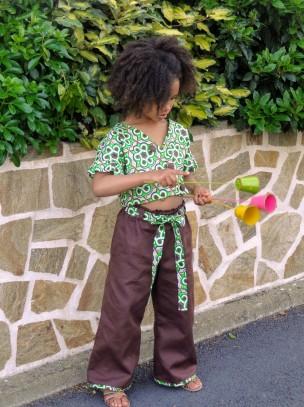 Pantalon et top Burda Kids