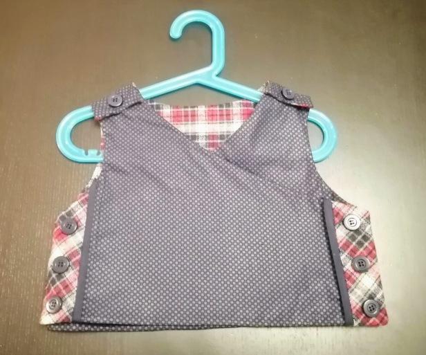 Gilet Altaïr, Grains de couture pour enfants, Ivanne Soufflet