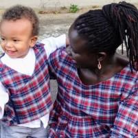 Robe Modes & Travaux, Gilet Altaïr, Grains de couture pour enfants, Ivanne Soufflet