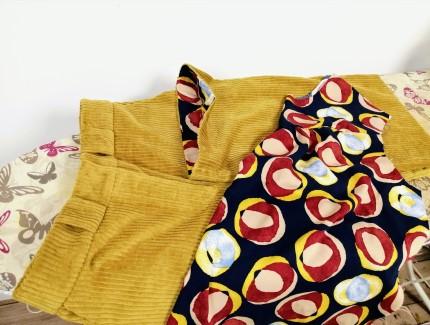 Pantalon Turi, La Maison Victor, Parement bas