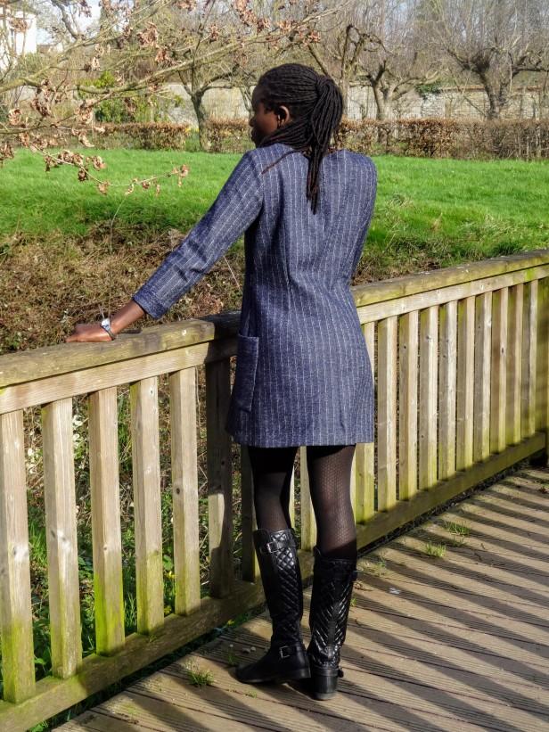 Robe à manches 3/4, Burda Style Easy