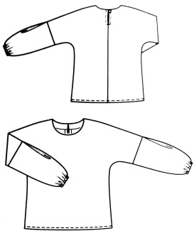Blouse 112, Burda Style N°241, Janvier 2020
