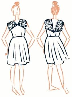 Modèle Robe Artesane