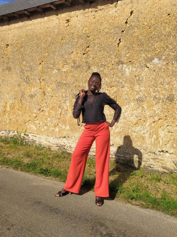 Pantalon Burda Style