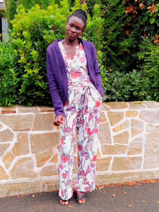 Combinaison pantalon Mina, Clématisse pattern, Cardicool Cosmo, Super Bison