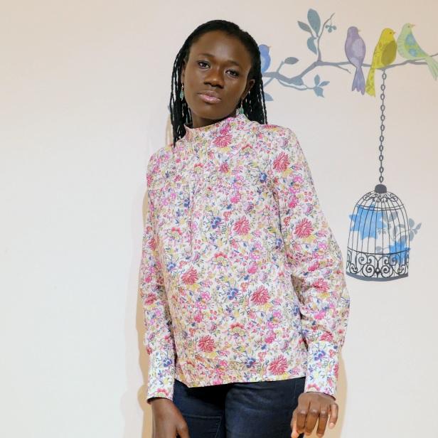 Blouse Lumi, La Maison Victor, Liberty of London, Minerva Crafts fabric