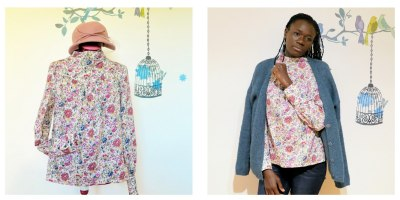 Blouse Lumi, La Maison Victor, Liberty of London, Minerva Crafts fabric