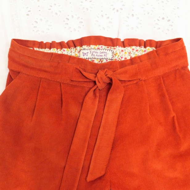 Pantalon Aura, Rose des vents, Stragier tissus
