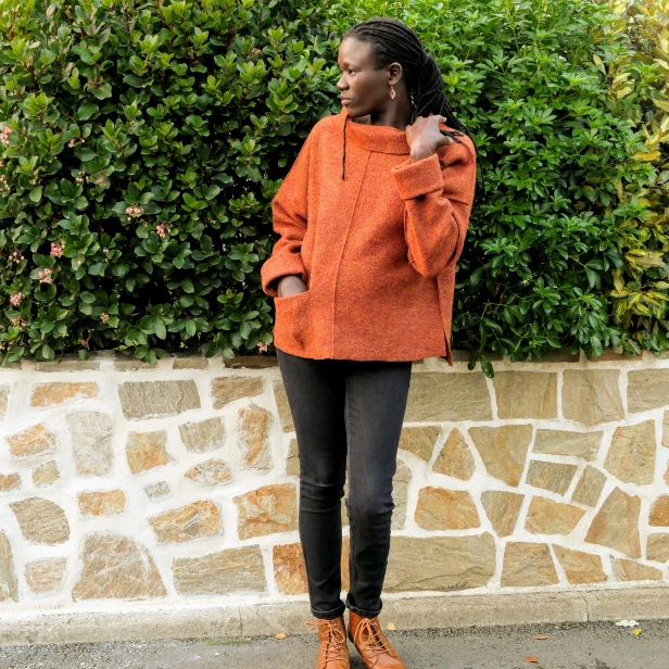 The Loden sweater, The Dressmakers' Guild, Laine bouillie
