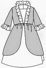 Pompadour, Robe de marquise, Gasparine, Makerist